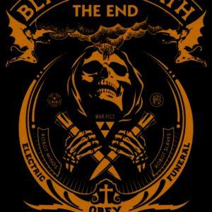 Black Sabath Album Print
