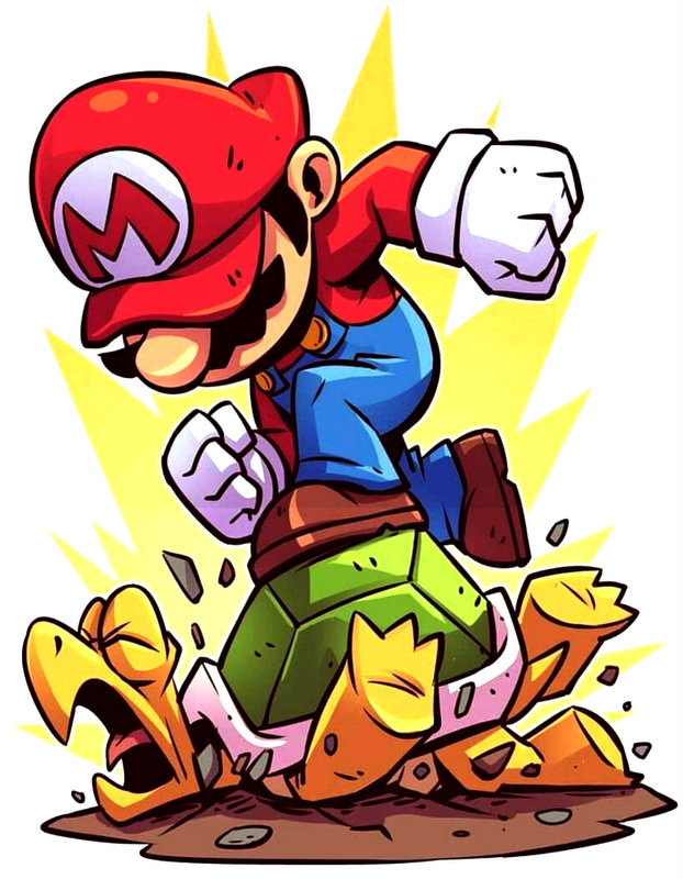 Mario Smash Turtle Παιδικό