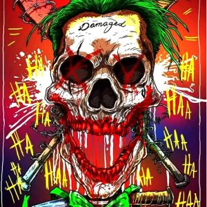 Joker DAMAGED ψηφιακή εκτύπωση