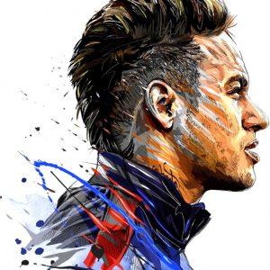 Neymar Jr Amazing Art