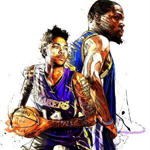 Brandon Ingram Basketball Art