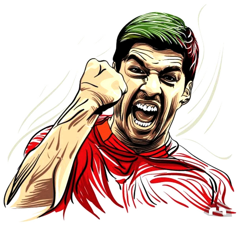Suarez Amazing Illustration Print