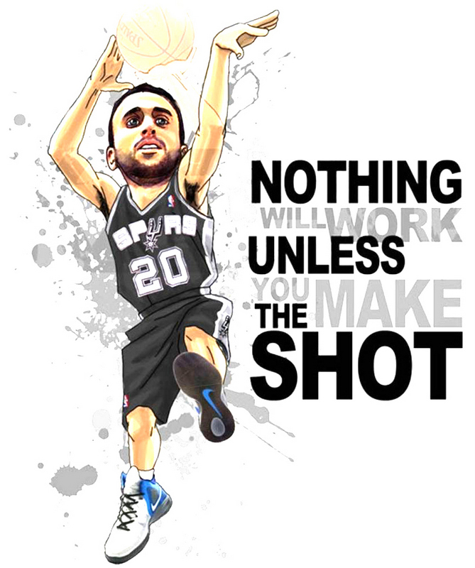 Nothing Will Work Unless You Make The Shot