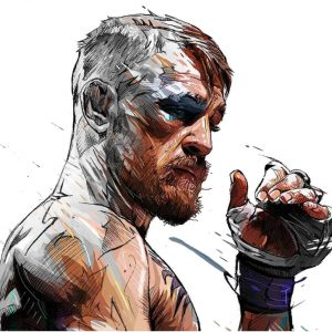 MMA Conor McGregor Art