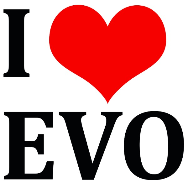 I LOVE EVO Στάμπα