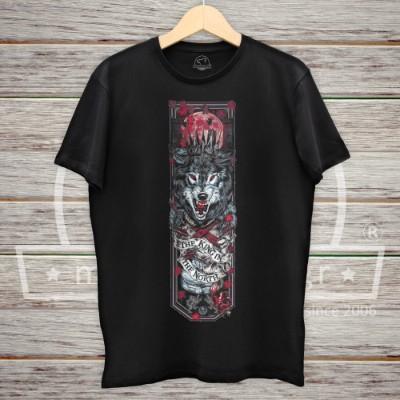 Wolf King Print