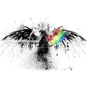 Αετός Colorful Print