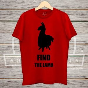 Find Llama Fornite Tshirt